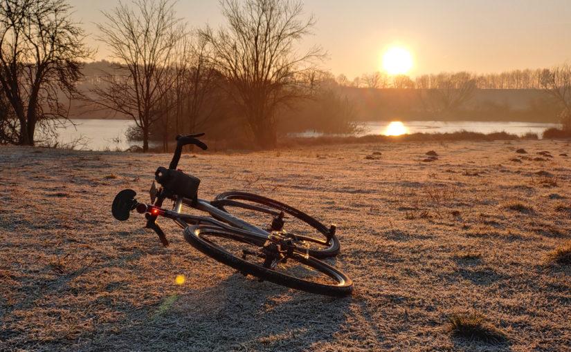 An einem frostigen Morgen im Januar