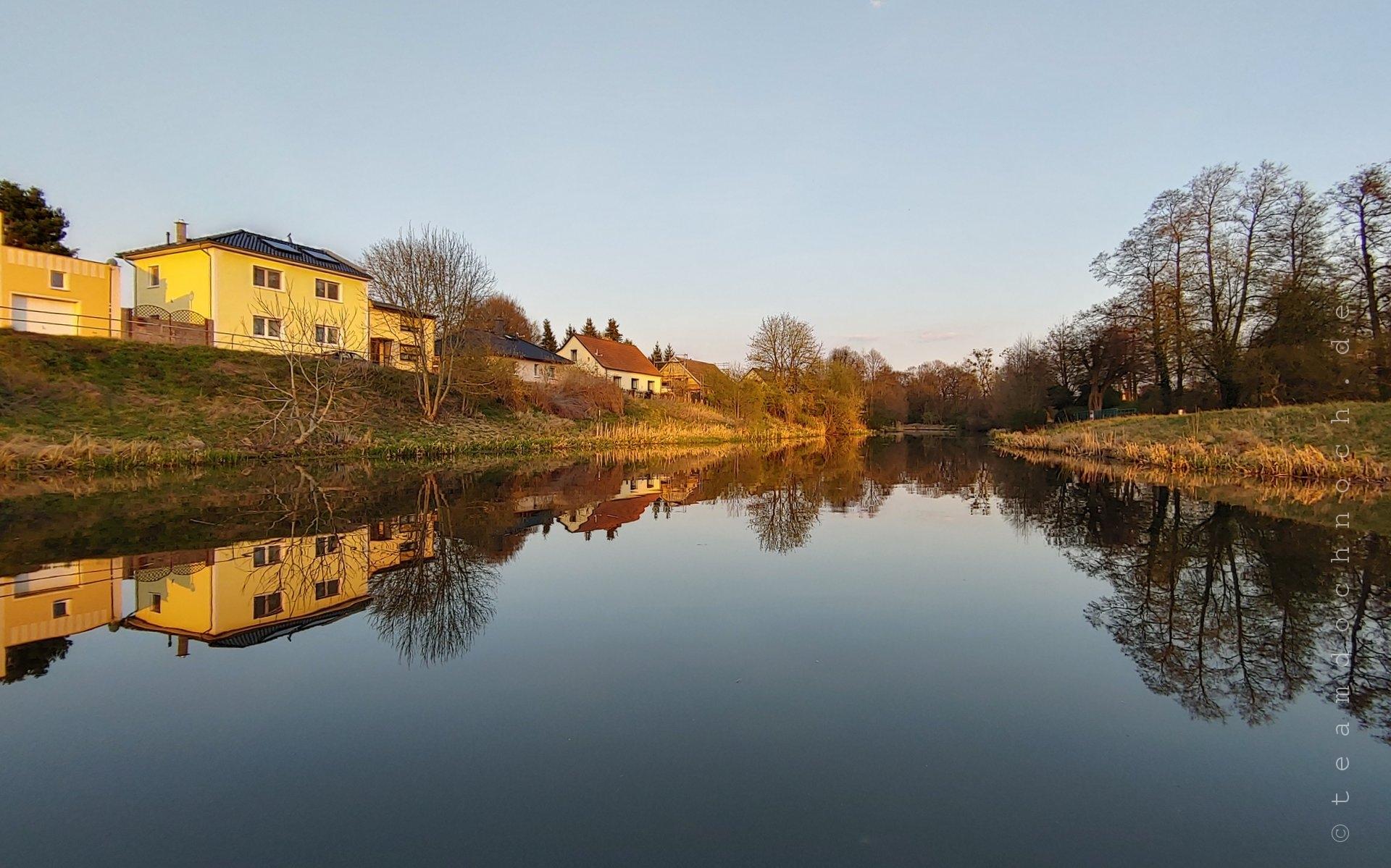 Steinfurt, unterhalb der Schleusen